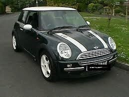 Mini Cooper, Racing Green with Chilli Pack