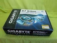 Old Gigabyte GA-7ZXE k7 triton Motherboard
