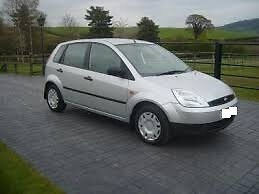 2003 ford fiesta 1.2..5 cc . 5 door owned for 5 years.