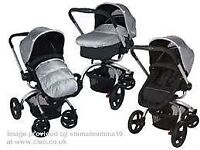 Mothercare Spin pushchair *Grey/Silver* RM7 collection*
