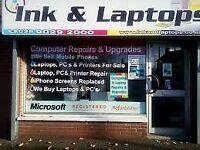 12 Months Warranty Professionally Refurbished Lenovo 15.6 Inch Laptop 4GB Ram 320 GB HDD MS Office