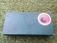 *** Vintage B&A Indoor Carpet Bowls Set *** £25