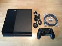 500gb Sony Playstation 4 comes 6 games and 2 official wireless control pads