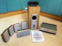 rare pioneer home cinema surround sound system