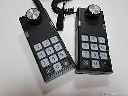 2 Colecovision black Coleco Remote wired Controller plug vintage