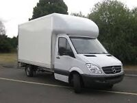 Man and Van Removal Service Big Luton van with Tail Lift from £25 /h
