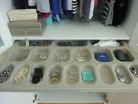 Ikea Pax Jewllery tray drawer for wardrobe includes runners