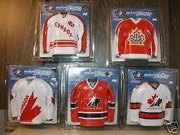 Team Canada hockey mini Jerseys  jersey Now only $2 each