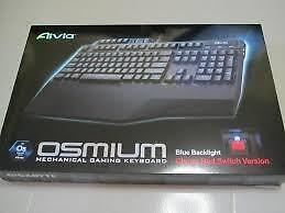 Aivia Osmium (Mechanical gaming keyboard) Cherry Red