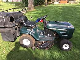 Looking for old riding lawnmowers