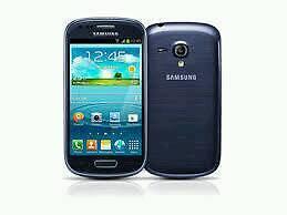 Samsung Galaxy S3 mini blue (Unlocked) in good condition