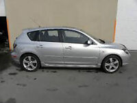 2004 Mazda3 Hatch, loaded, silver,170km, SAFETY & EPASS FREE