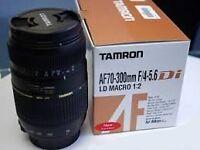 Tamron 70-300mm F4/5.6 DI LD Macro (Nikon AF)