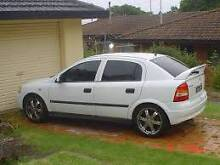 2002 Holden Astra Sedan Newcastle Newcastle Area Preview