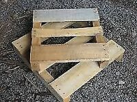FREE Sand and Wooden Pallets left over after building work