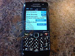 CELLULAIRE INTELLIGENT BLACKBERRY PEARL RESEAU ROGERS