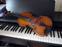 Violin and Piano Lessons