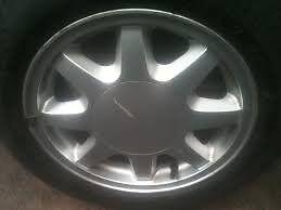 """*** Vw Mk2 Golf Alloys Fondmetal 14"""" 7 Spoke Wheels *** £80"""