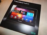 NEW - Blackberry 32GB PLAYBOOK /Case & BB 9800 Cell PHONE /Case