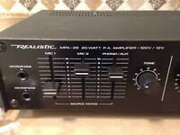 Public address amp 20 watts