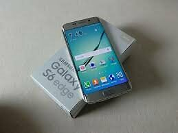 samsung s6 edge android/32 gb gold, good condition cracked screen, cheap, working, not iphone,swap