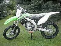 KAWASAKI KXF 450 MOTOCROSS BIKE 2015 MODEL EFI FUEL INJECTED EX CONDITION £3100 ONO NO TEXTS PLEASE