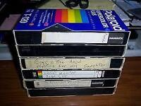 Got vhs tapes, you've been meaning to put onto DVDS?