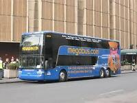 Selling Megabus Tickets for 50 Percent The Price!