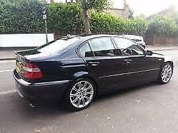BMW 330D M SPORT M57 AUTO BLACK M3 M5