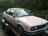 WANTED BARN FIND BMW E30 E30 OR ABANDONED SPARE AND REPAIR AND ALSO ALL THE KINDS OF BMW