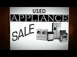 This TUESDAY  9am to 5pm - Used SALE  -  FRIDGE  -  STOVE  -  WASHER  -  DRYER  / 9267 - 50 Street Edmonton