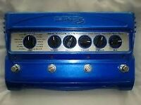 Line 6 MM4 Modulation Effects pedal chorus, tremolo, phaser, univibe BOXED w/psu