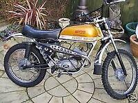fantic cabellero 1972 49cc sports moped excellent unrestored condition