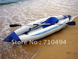 Jilong Pathfinder Kayak with Extra Top Range BCF Paddle Redcliffe Belmont Area Preview