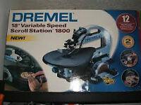 Dremel 1800 variable speed scroll saw