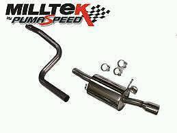 Miltec exhaust for mk6 fiesta