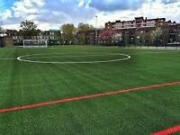 Players needed for a friendly 6 a side this Wednesday at 6pm in South London. Play football with us!