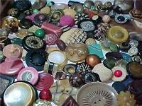 "Buttons wanted: vintage, unusual, or ""blingy"""