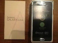Samsung Galaxy Alpha - Black - Unlocked/Unused