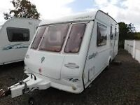 Compass 4 berth family caravan all nice and clean