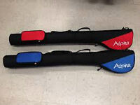 Alpha Golf Travel Bags - One Red - One Blue - $80 for the Pair