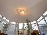 conservatory roof insulation/tiles