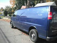 Clean Empty Van 416939O777 4 rent only with driver or workers