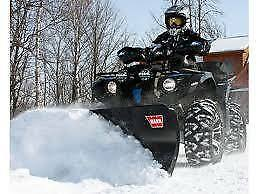 WARN ATV Snow Plow SALE At Stoney Point Hardware!
