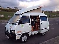 DIHATSU HIJET DEVEN FACTERY BUILT CAMPER FOR SWOPS/SALE/PX WITH SMALL CAR