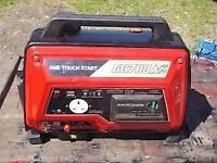 SMALL PORTABLE KAWASAKI GD700AS 4 STROKE PETROL GENERATOR
