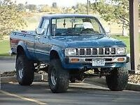 1979-1989 Toyota Pickup 4x4 for restoration/mudding