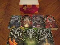 RECHERCHE : Harry Potter collection complète Anglais