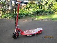 Razor electric scooter E100 (red)