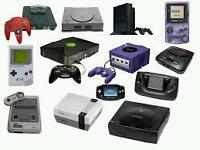 Wanted old game cartridges and consoles
